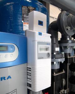 Miura steam boiler monitoring equipment