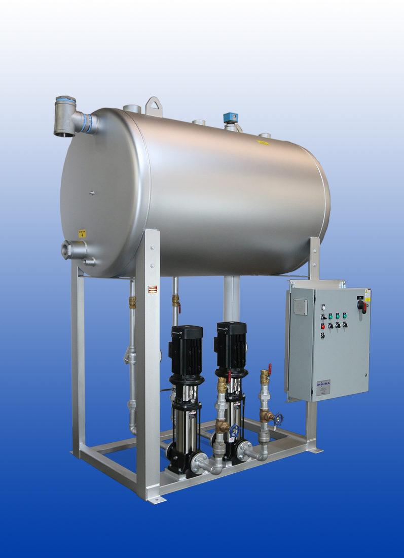 Boiler Feedwater Tanks | Miura America