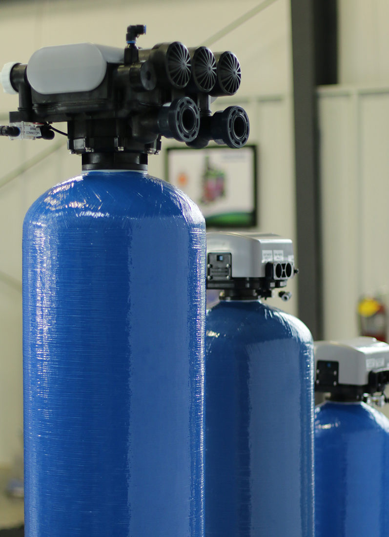 Our water softener is designed to deliver a more consistent, highly softened water supply.