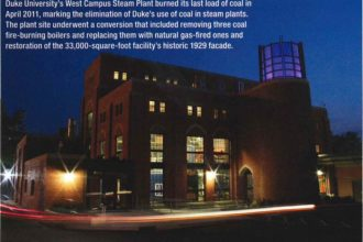 Duke University Plants Blow Off Steam With Natural Gas
