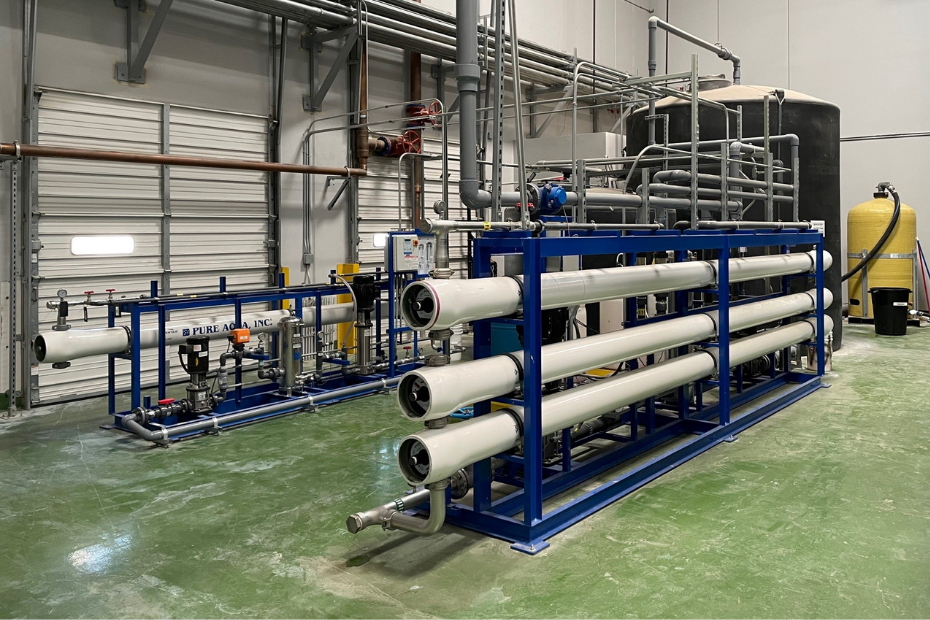 reverse osmosis steam boiler setup