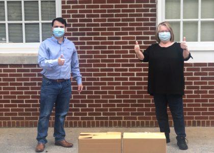 Miura mask donation