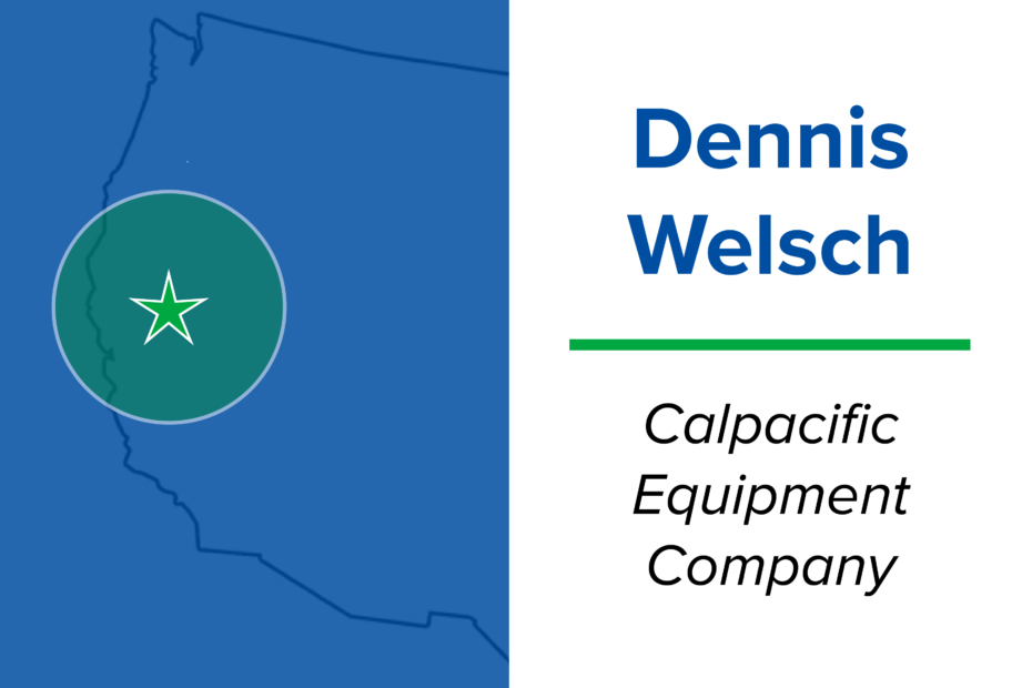 Get to Know Your Local Miura Rep: Dennis Welsch from Calpacific Equipment