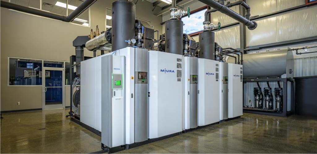 Modular Miura LX boiler system