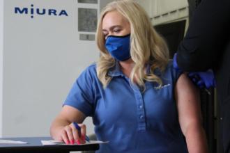 Miura America Hosts Vaccine Clinic at Rockmart Facility